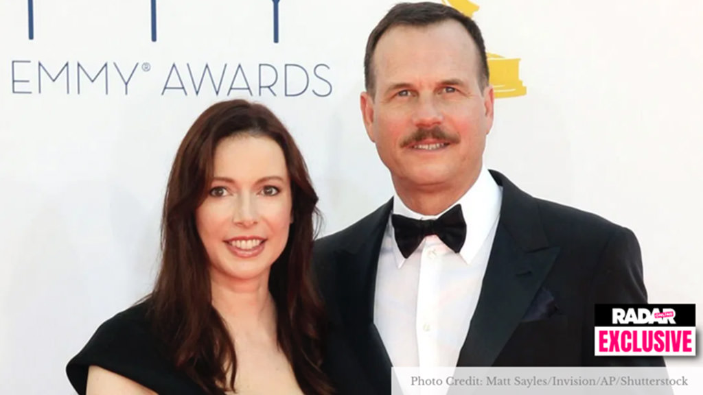 Bill Paxton and wife