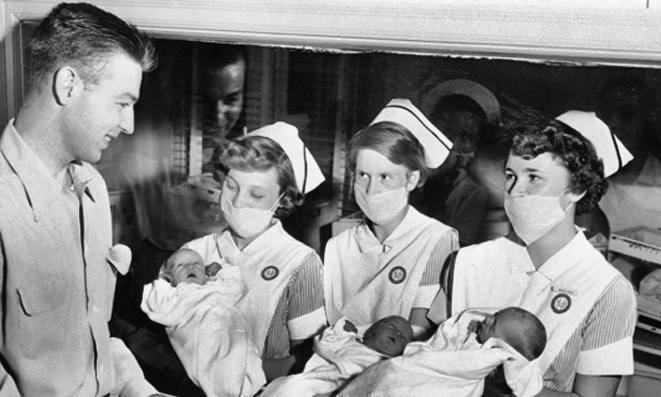Childbirth 1970s
