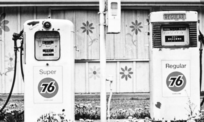 1970s Gas pumps