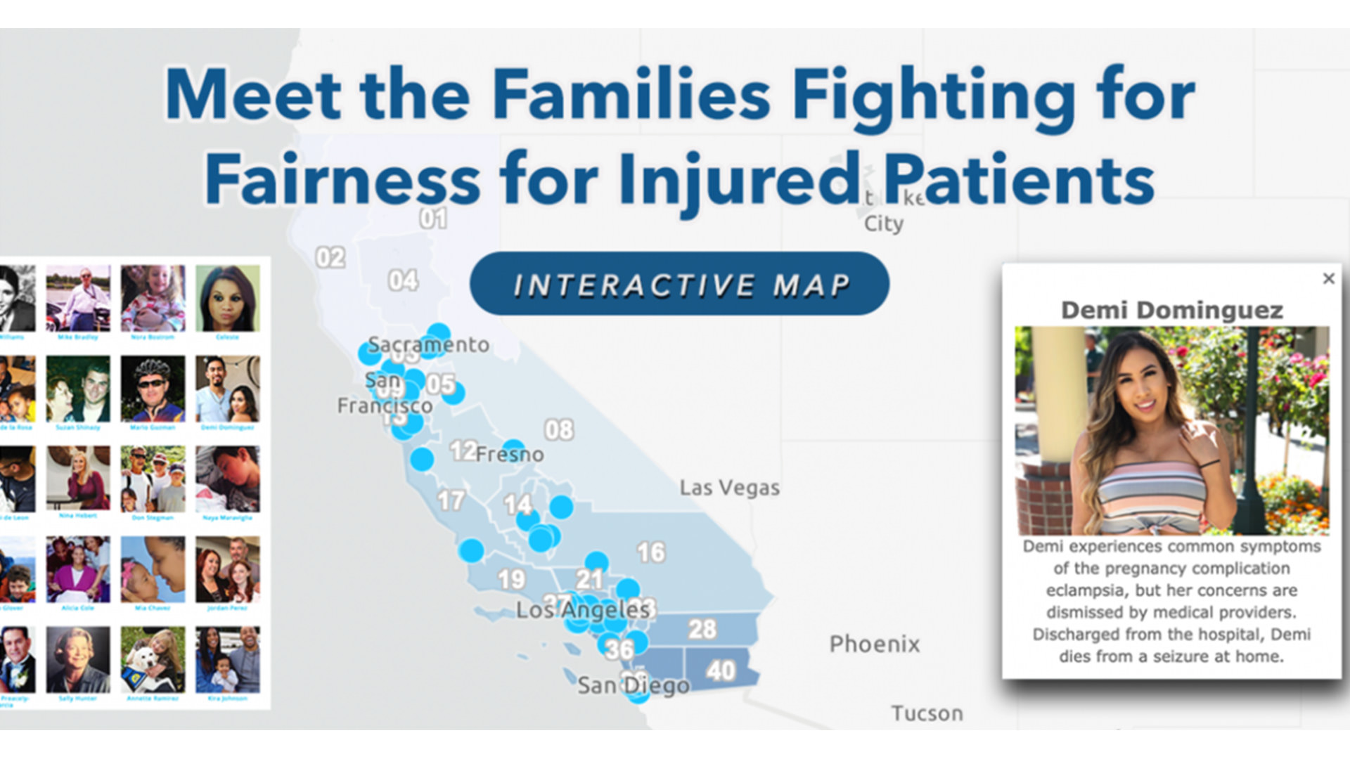 Meet the families fighting for fairness for injured patients